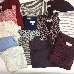 Ann Taylor LOFT bundle 15 items size Medium